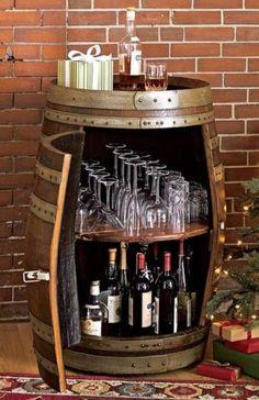 An Old Barrel Bar