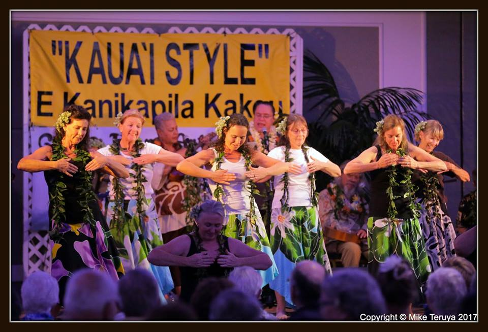 Lovely kupuna dancers on Kauai are inspiration for the Hula Maidens